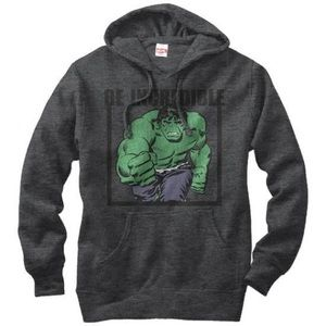Hoodie: Incredible Hulk- Be Incredible